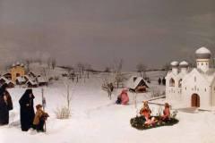Presepe 1990 - Natale in Russia