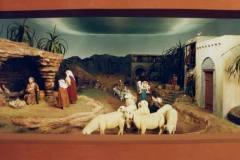 Presepe 1996 - I pastori vanno alla grotta